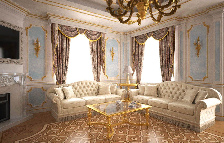 Villa a peterhof in stile classico for Ville stile classico